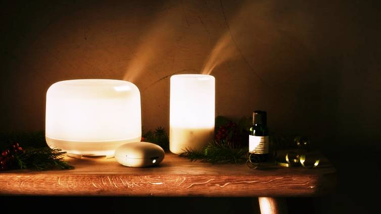 A essential oil diffuser for this Christmas